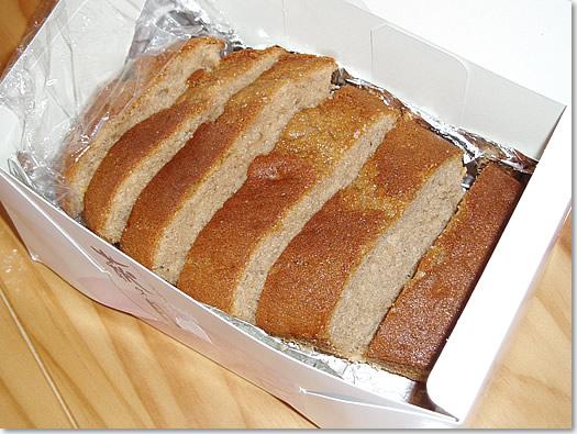 オーナー様手作りのケーキ