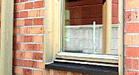 木製窓のDIY塗装前
