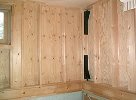 壁面収納棚のDIY取付前