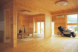 モダン和室のインテリア・部屋の配置・和室をリビング横に配置