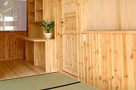 モダン和室のインテリア・部屋の配置・和室を独立して配置
