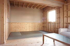 モダン和室のインテリア・広さ width=
