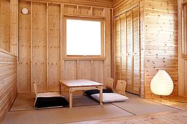 モダン和室のインテリア・壁・天井・タタミ