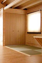 モダン和室のインテリア・押入収納