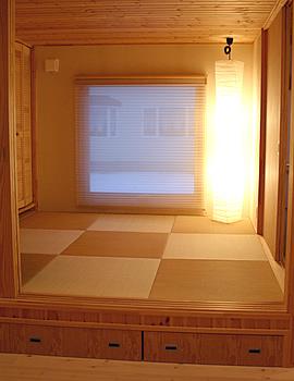 モダン和室のインテリア・照明器具