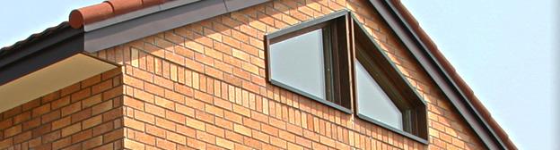 レンガの家・外壁補修